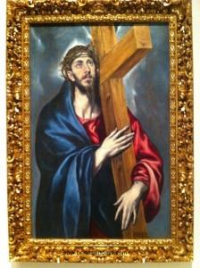 Cristo con la Cruz. 1590-1595. MNAC