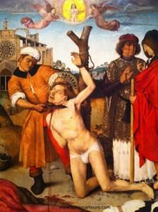 Martirio de San Cucufate. 1500-1507. MNAC