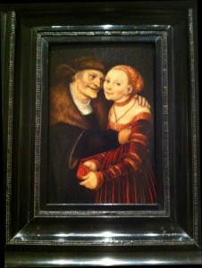 Pareja Amorosa Desigual 1517. MNAC