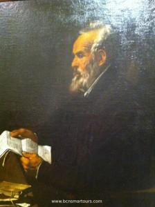Ramón Llull. Hacia 1618. MNAC