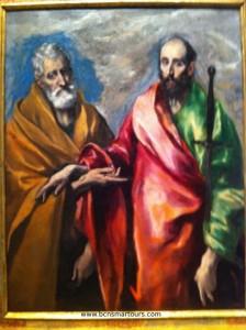 San Pedro y San Pablo. 1590-1600. MNAC