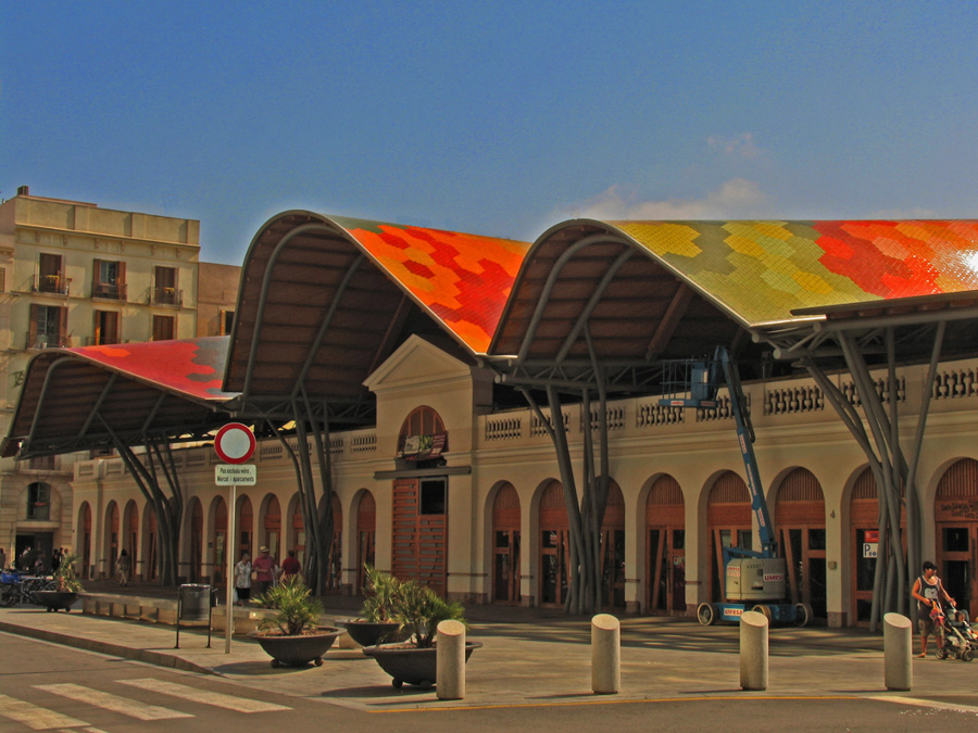 Mercado de Abastecimientos de Santa Caterina (Barcelona)