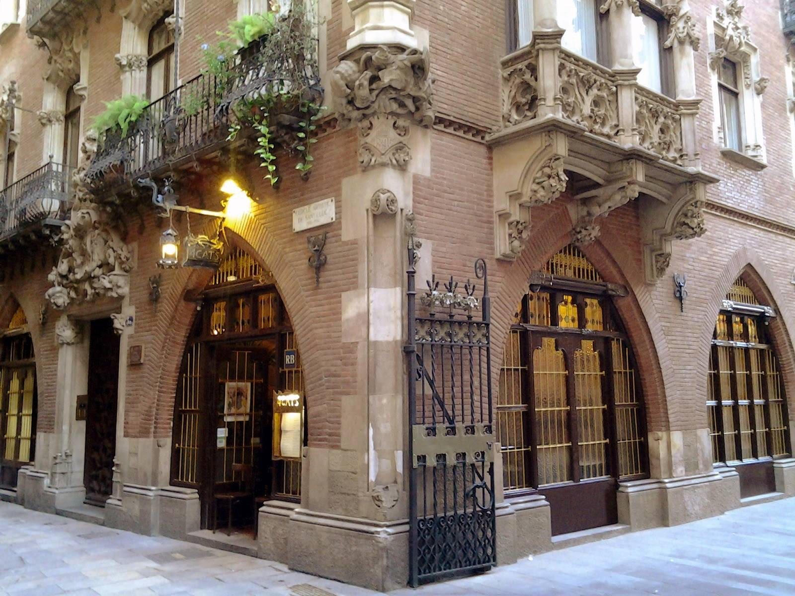 Casa Martí. (Josep Puig i Cadafalch). 1896