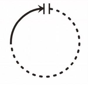 El imaginario del tiempo suspendido.  La doble barra ( || ) indica la ruptura imaginaria de la continuidad del tiempo.